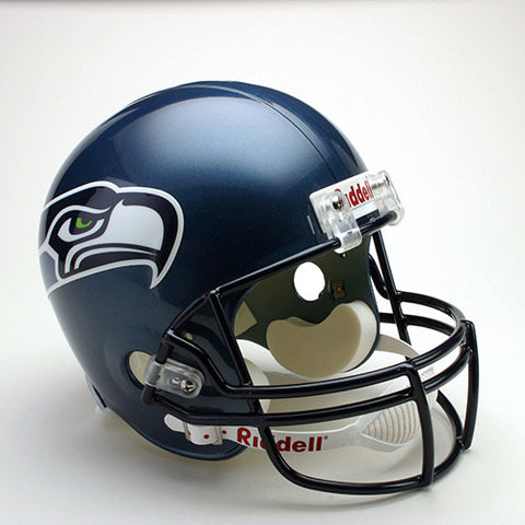 Seattle Seahawks Throwback 2002-2011 Riddell Deluxe Replica Helmet