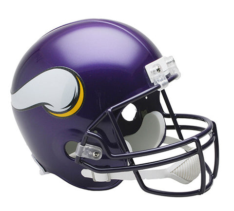 Minnesota Vikings Throwback 2006-2012 Riddell Deluxe Replica Helmet