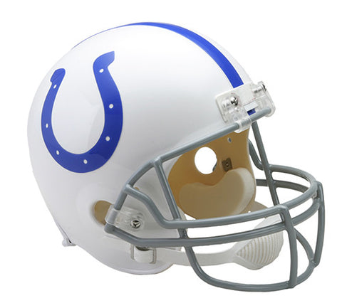 Indianapolis Colts 1958-1977 Throwback Riddell Deluxe Replica Helmet
