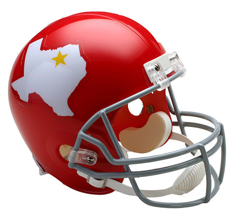 Dallas Texans AFL 1960-1962 Throwback Riddell Deluxe Replica Helmet