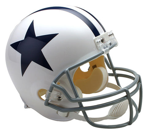Dallas Cowboys 1960-1963 Throwback Riddell Deluxe Replica Helmet