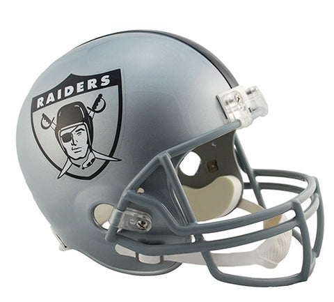 Oakland Raiders Throwback 1963 Riddell Deluxe Replica Helmet