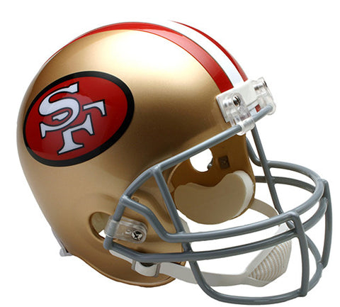 San Francisco 49ers Throwback 1964-1995 Riddell Deluxe Replica Helmet