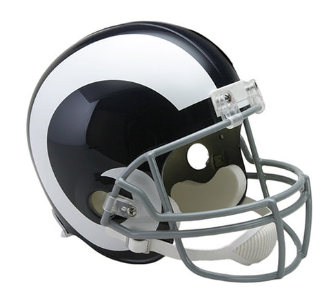 Los Angeles Rams 1965-1972 Throwback Riddell Deluxe Replica Helmet
