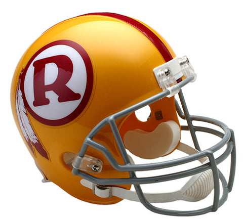 Washington Redskins Throwback 1970-1971 Riddell Deluxe Replica Helmet