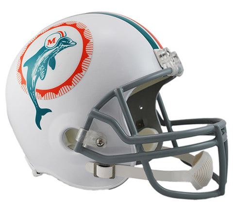 Miami Dolphins Throwback 1972 Riddell Deluxe Replica Helmet