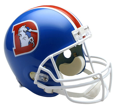 Denver Broncos 1975-1996 Throwback Riddell Deluxe Replica Helmet