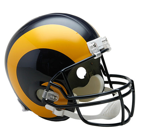 Los Angeles Rams 1981-1999 Throwback Riddell Deluxe Replica Helmet