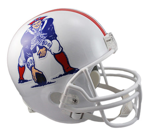 New England Patriots Throwback 1982-1989 Riddell Deluxe Replica Helmet