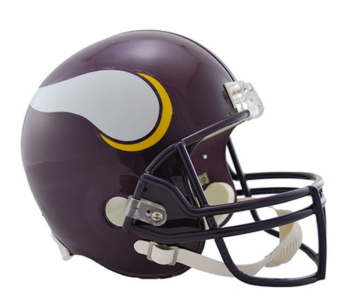 Minnesota Vikings Throwback 1983-2001 Riddell Deluxe Replica Helmet
