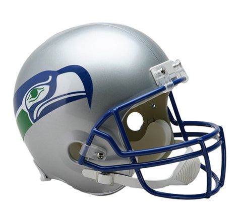 Seattle Seahawks Throwback 1983-2001 Riddell Deluxe Replica Helmet