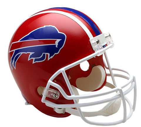Buffalo Bills 1987-2001 Throwback Riddell Deluxe Replica Helmet
