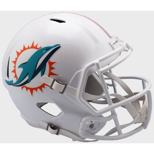 Miami Dolphins Riddell Deluxe Replica Speed Helmet