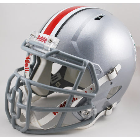 Ohio State Buckeyes Riddell Deluxe Replica Speed Helmet - Block O Mask