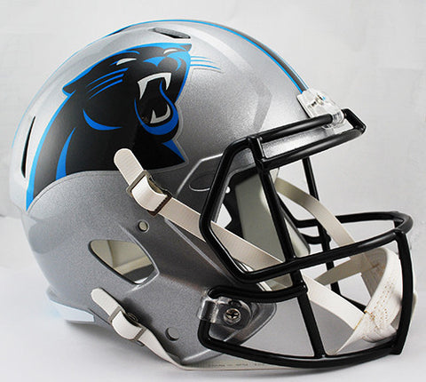 Carolina Panthers Riddell Deluxe Replica Speed Helmet