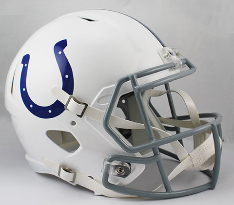 Indianapolis Colts Riddell Deluxe Replica Speed Helmet