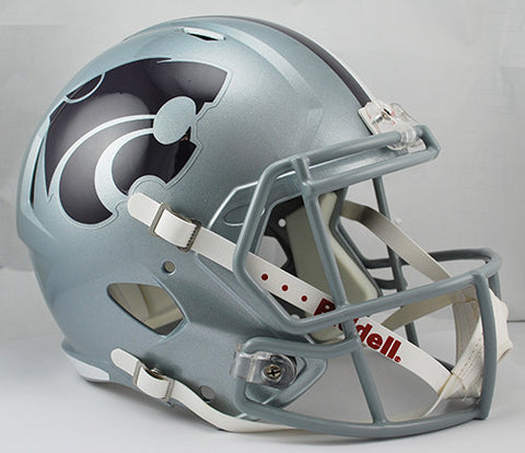 Kansas State Wildcats Riddell Deluxe Replica Speed Helmet