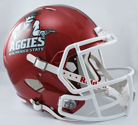 New Mexico State Aggies Riddell Deluxe Replica Speed Helmet