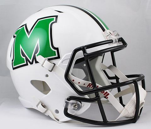 Marshall Thundering Herd Riddell Deluxe Replica Speed Helmet