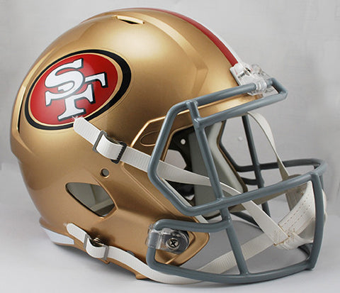 San Francisco 49ers Riddell Deluxe Replica Speed Helmet