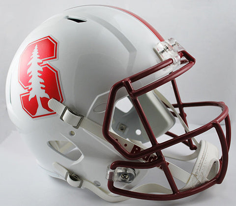 Stanford Cardinal Riddell Deluxe Replica Speed Helmet