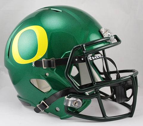 Oregon Ducks Riddell Deluxe Replica Speed Helmet