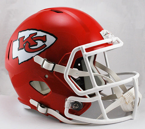 Kansas City Chiefs Riddell Deluxe Replica Speed Helmet