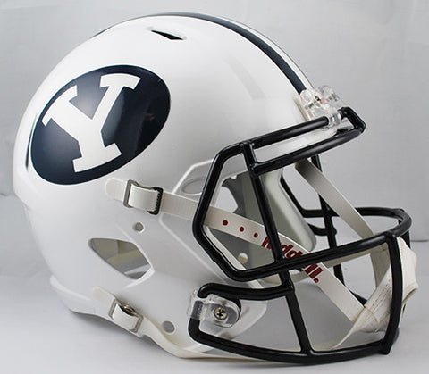 BYU Cougars Riddell Deluxe Replica Speed Helmet