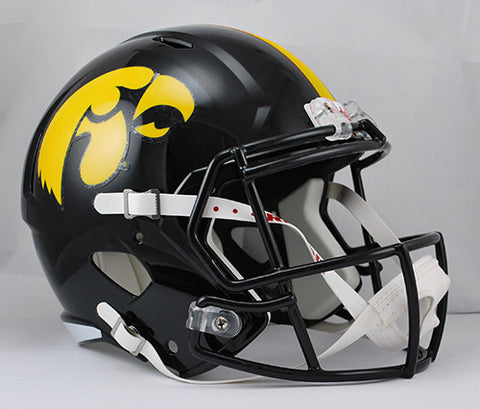 Iowa Hawkeyes Riddell Deluxe Replica Speed Helmet