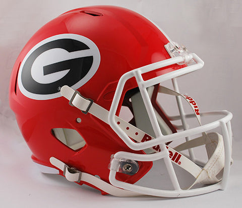 Georgia Bulldogs Riddell Deluxe Replica Speed Helmet