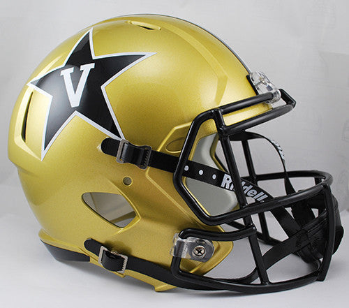 Vanderbilt Commodores Riddell Deluxe Replica Speed Helmet