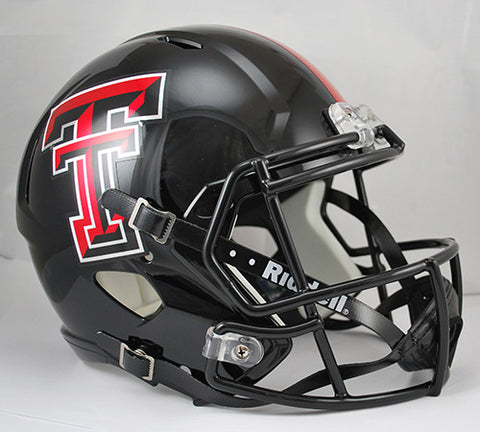Texas Tech Red Raiders Riddell Deluxe Replica Speed Helmet