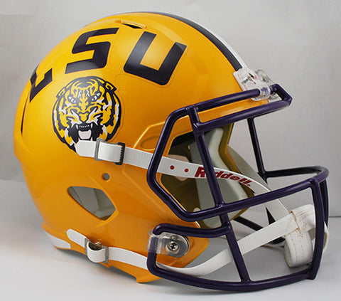 LSU Tigers Riddell Deluxe Replica Speed Helmet