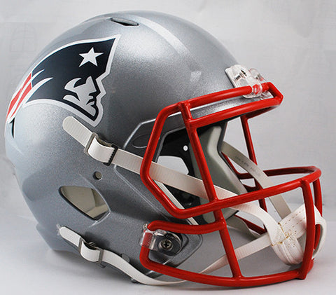 New England Patriots Riddell Deluxe Replica Speed Helmet