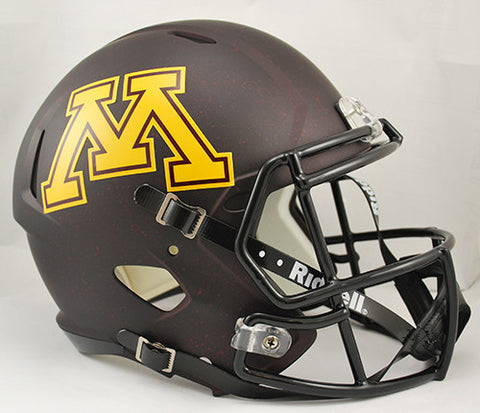 Minnesota Golden Gophers Riddell Deluxe Replica Speed Helmet