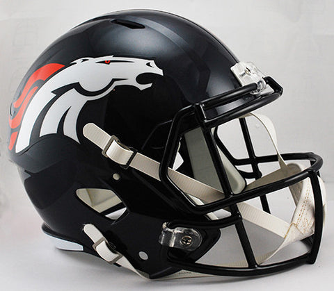 Denver Broncos Riddell Deluxe Replica Speed Helmet
