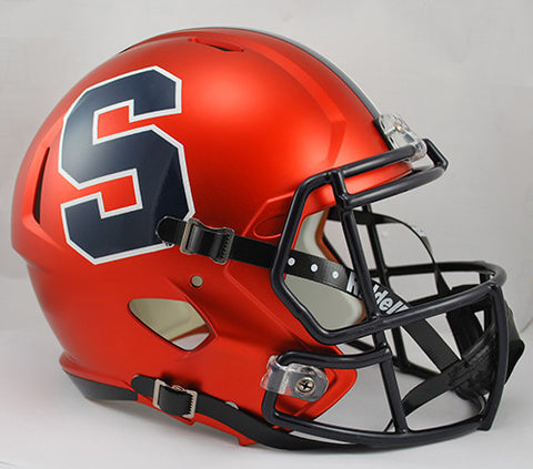Syracuse Orange Riddell Deluxe Replica Speed Helmet
