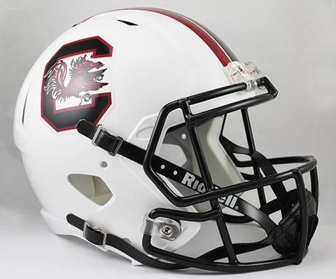 South Carolina Gamecocks Riddell Deluxe Replica Speed Helmet
