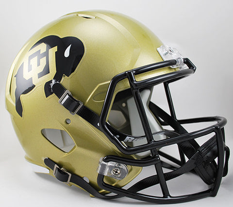 Colorado Buffaloes Riddell Deluxe Replica Speed Helmet