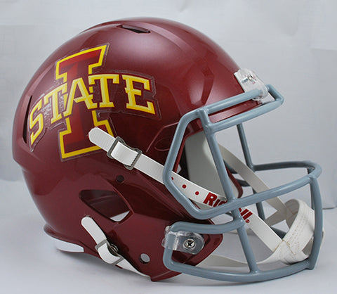Iowa State Cyclones Riddell Deluxe Replica Speed Helmet