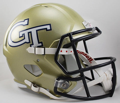 Georgia Tech Yellow Jackets Riddell Deluxe Replica Speed Helmet
