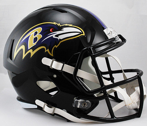 Baltimore Ravens Riddell Deluxe Replica Speed Helmet
