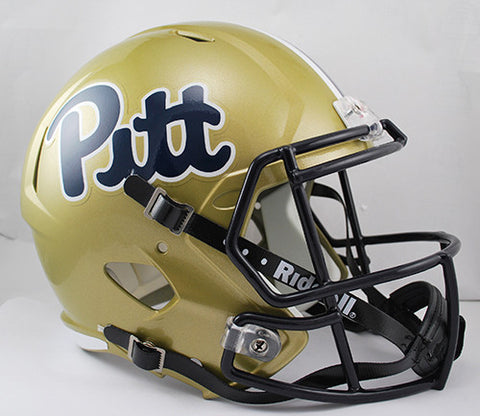 Pitt Panthers Riddell Deluxe Replica Speed Helmet