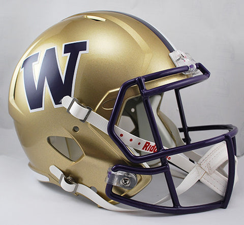 Washington Huskies Riddell Deluxe Replica Speed Helmet