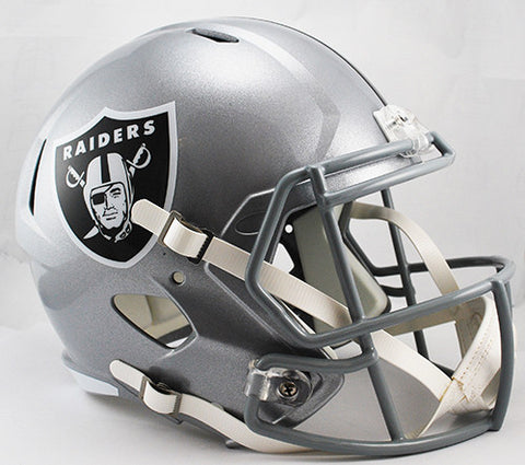 Oakland Raiders Riddell Deluxe Replica Speed Helmet