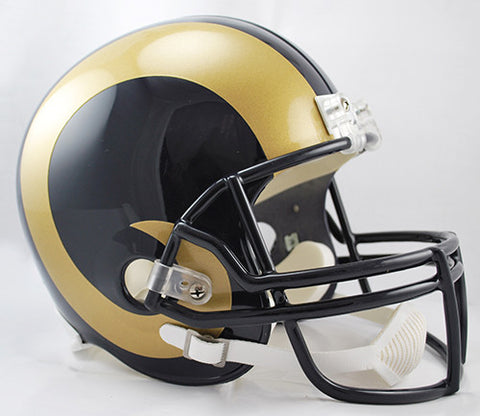 Los Angeles Rams 2000-2016 Riddell Deluxe Replica Helmet