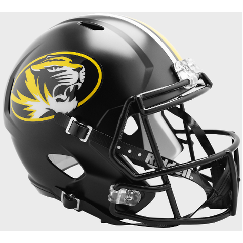 Missouri Tigers Riddell Deluxe Replica Speed Helmet
