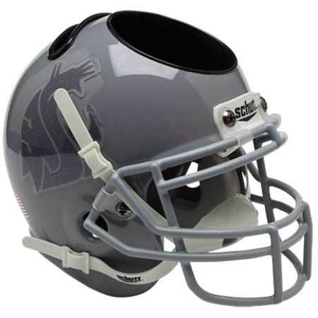 Washington State Cougars Schutt Mini Helmet Desk Caddy - Alternate 1