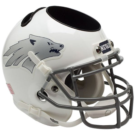 Nevada Wolfpack Schutt Mini Helmet Desk Caddy - Alternate 1