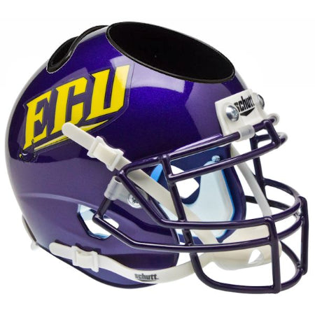 East Carolina Pirates Schutt Mini Helmet Desk Caddy - Alternate 1